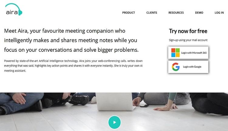 Aira Meeting Tool