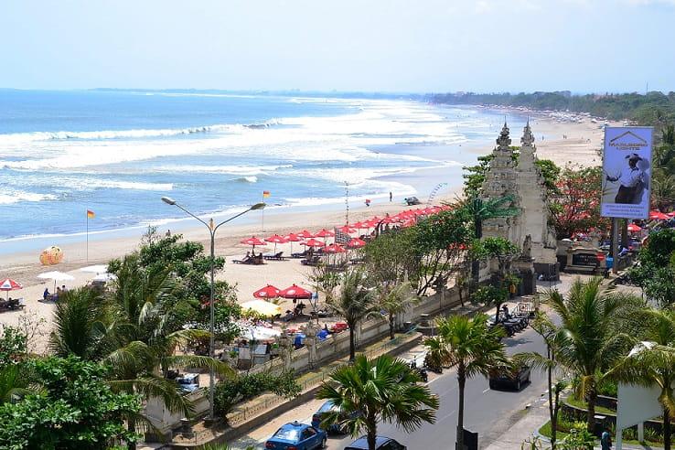 Honeymoon to Bali(Kuta Beach)