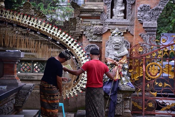 Ubud Royal Palace & Art Market