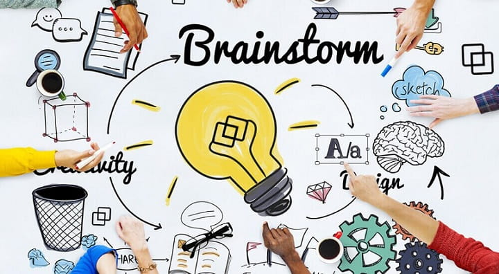 Ways to Learn within Room Brainstorming