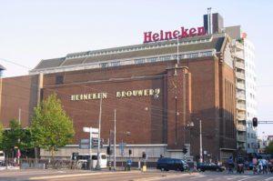Historic Heineken Brewery in Amsterdam