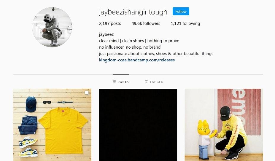 Jay Beez Instagram