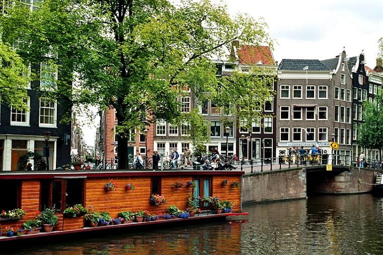 Prinsengracht house in Amsterdam
