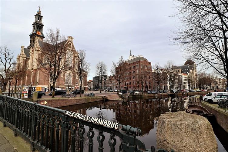 Westerkerk Church in Amsterdam