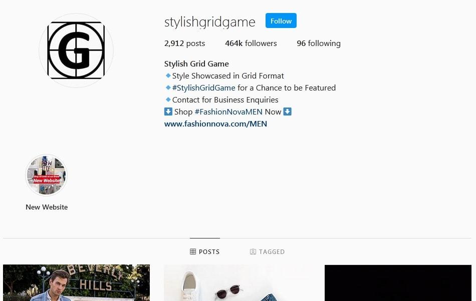 gridstylegame instagram