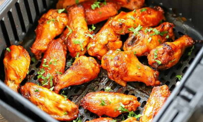 How to make Chicken Wings on Fryer-min