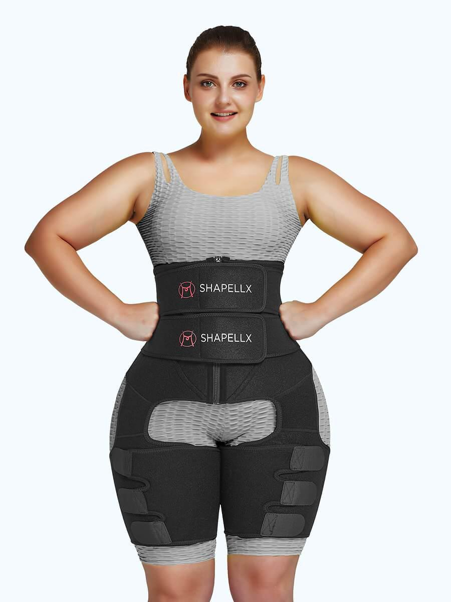 NeoSweat™ 3-In-1 Waist and Thigh Trimmer Butt Lifter