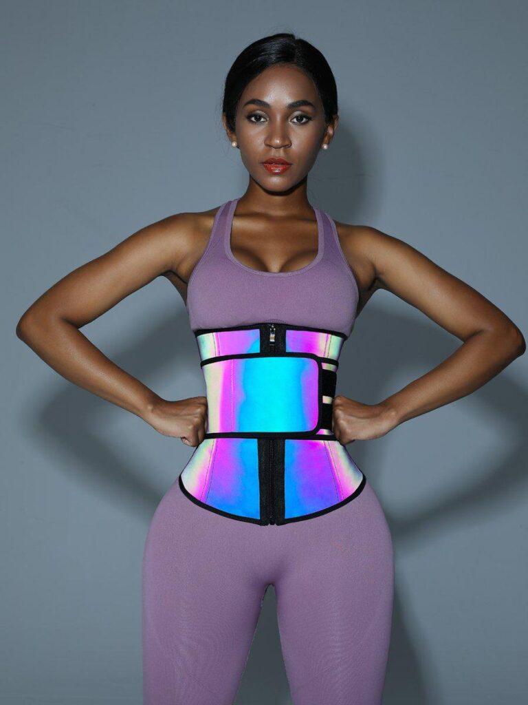NeoSweat™ Neon Reflective Waist Trainer